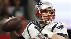 Tom Brady z New England Patriots v akci