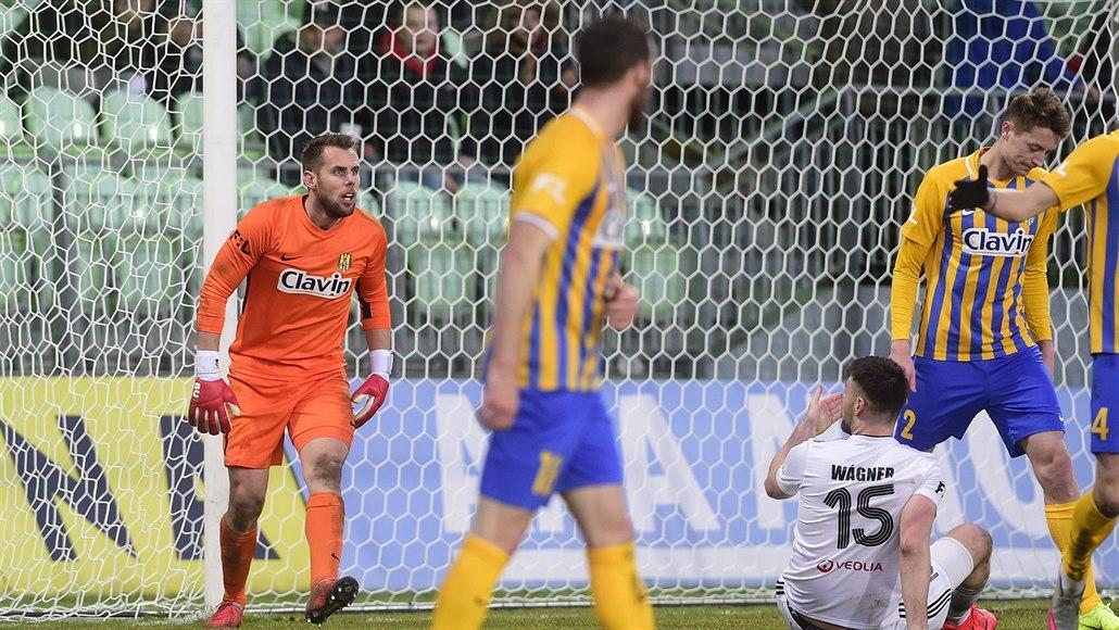 Po gólu jsme zaspali, přiznal po derby s Karvinou opavský útočník Juřena