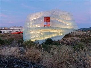 Finalista soutěže Mies van der Rohe Award: kongresové centrum ve tvaru obřího...