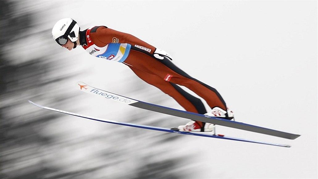 Sdruženář Pažout je v Lillehammeru po skokanské části desátý