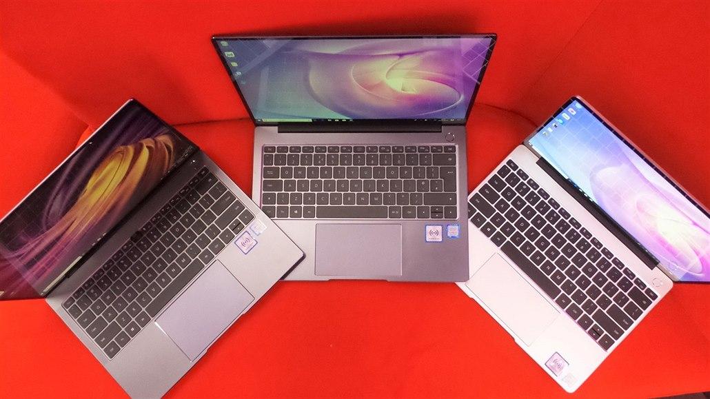 Huawei má problémy i v počítačích. Omezuje výrobu a ruší nový notebook