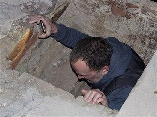 V mikulovském kostele svatého Jana Křtitele při rekonstrukci objevili tajemnou...