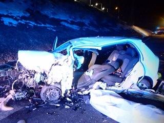 Nehoda u Mladých Buků na Trutnovsku (20. 2. 2019)
