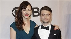 Erin Darkeová a Daniel Radcliffe na Tony Awards (New York, 8. června 2014)