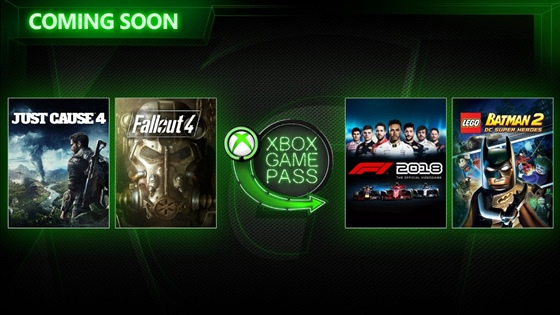 Xbox Games Pass - březen 2019