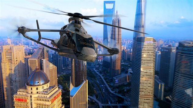Se supervrtulníkem pro boj v megaměstech chce Airbus porazit Američany