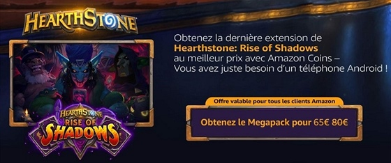 Hearthstone: Rise of Shadows - leak