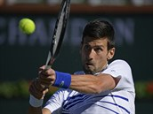 Novak Djokovič na turnaji v Indian Wells.