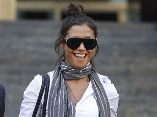 Marocká modelka Imán Fadílová na snímku z roku 2011