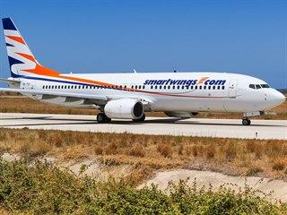 Letadlo typu Boeing 737 společnosti Smartwings
