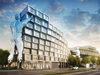 Vizualizace: objekt Nová Invalidovna bude umístěn přímo naproti čelní fasádě...