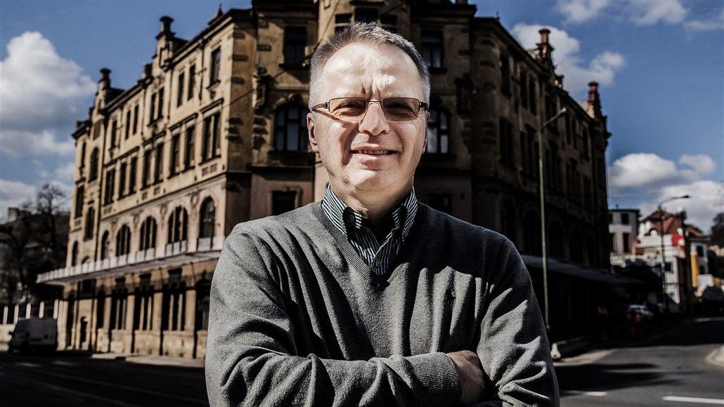 Vládní zmocněnec pro jadernou energetiku Jaroslav Míl