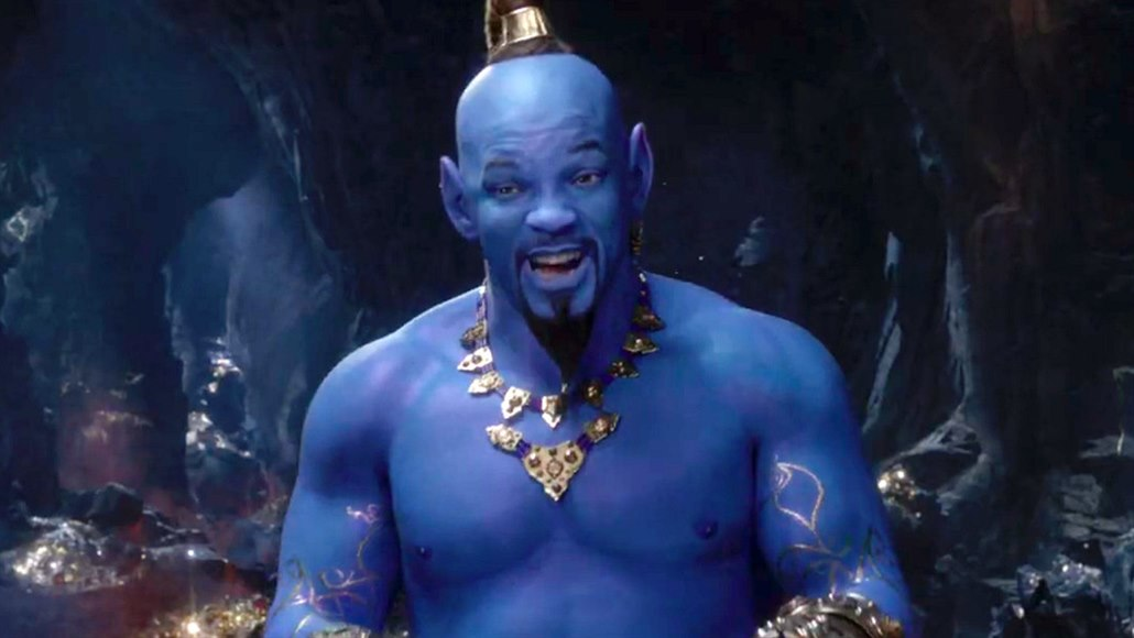 Will Smith ve filmu Aladin