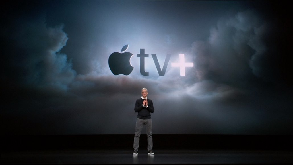 Streamovací služba Apple se jmenuje TV+
