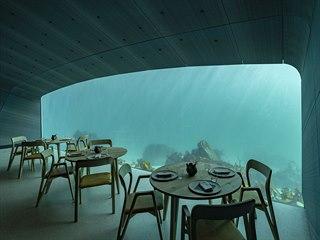 První evropská podmořská restaurace s názvem Under se nachází v nejjižnějším...