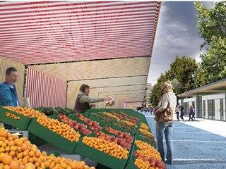 Proměna zlínského tržiště by měla začít v březnu 2020. Zastřešení mělo původně...