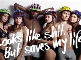 Německá kampaň, která nabádá k používání cyklistických helem
