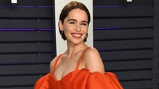 Emilia Clarke na Vanity Fair Oscar Party (24. února 2019, Los Angeles)