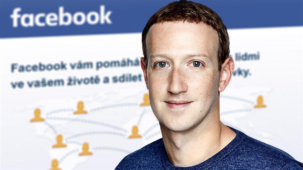 Mark Zuckerberg, zakladatel a šéf sociální sítě Facebook