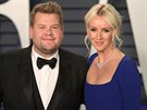 James Corden s manželkou Julií Careyovou (Vanity Fair Oscar Party, Beverly...