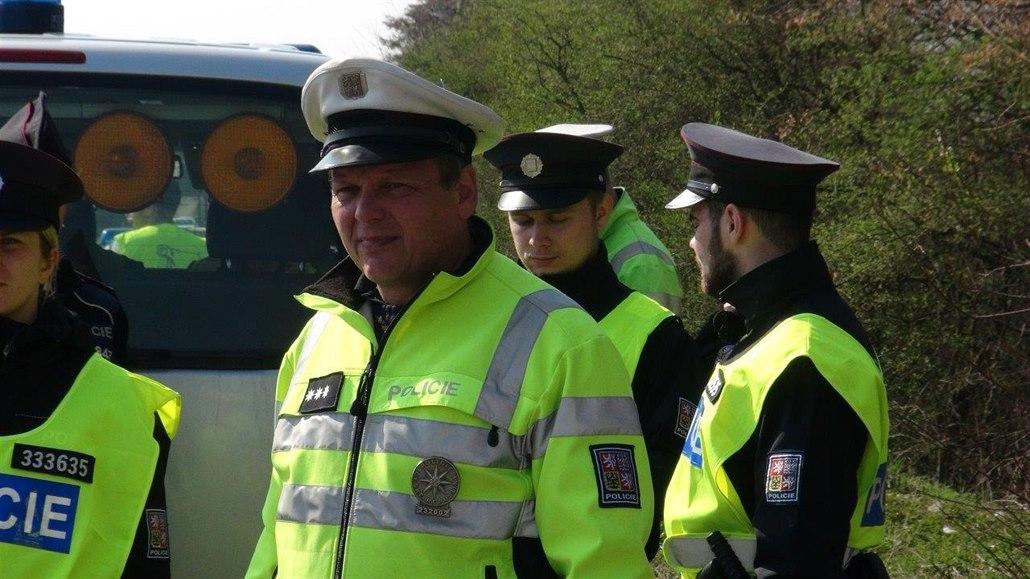 Policejní akce u Benešova, která je součástí speciální akce, při které státní...