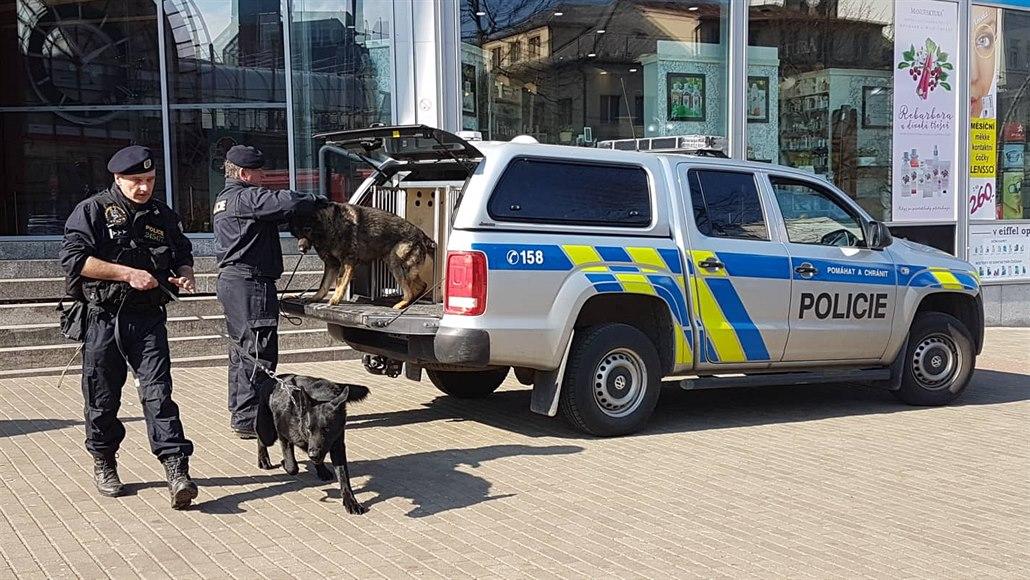 V Sokolově se střetli vodáci s místními, oddělili je až policejní psovodi