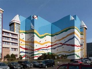 Budovu Národního archivu navrhla architektka Iva Knappová.