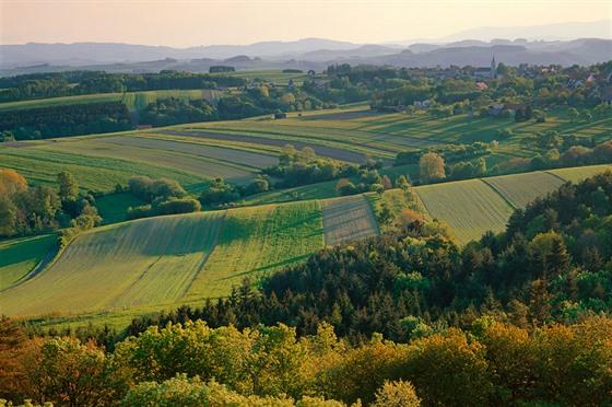 Krajina v jižním Burgenlandu
