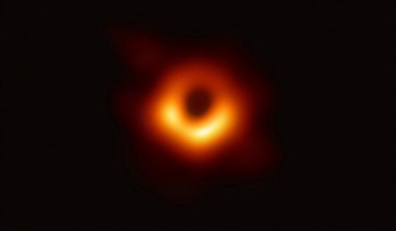 Černá díra v jádru galaxie M87