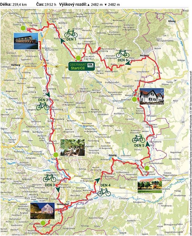 Jeden z možných způsobů, jak si projet cyklostezku Paradiesroute v rakouském...