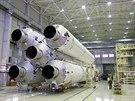 Pět motorů RD-191 na raketě Angara-A5