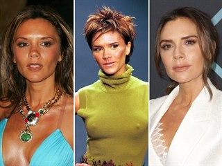 Bývalá členka skupiny Spice Girls a současná módní ikona Victoria Beckhamová...