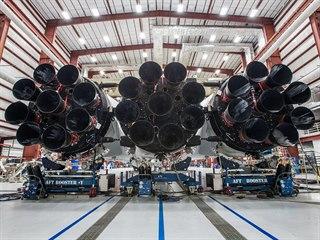 Nejsilnější raketou současnosti je Falcon Heavy od společností SpaceX. Motory...