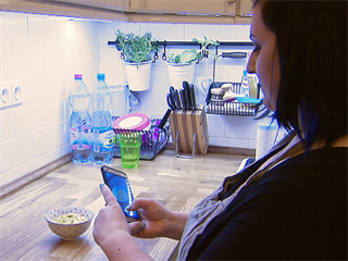 Jídlo pro Leontýnku patří i na sociální sítě.
