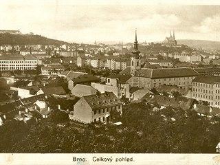 Celkový pohled na Brno