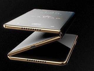 Designový koncept skládacího iPhonu od ruské společnosti Caviar