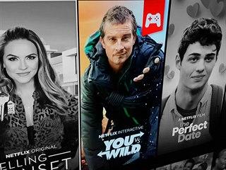 You vs. Wild - interaktivní show na streamovací službě Netflix.