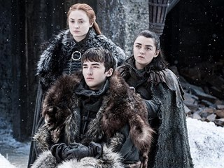 Isaac Hempstead Wright jako Bran Stark v seriálu Hra o trůny