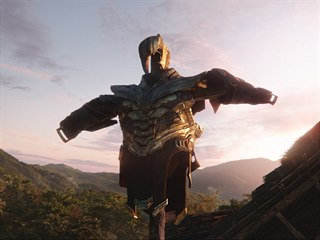 Záběr ze snímku Avengers: Endgame