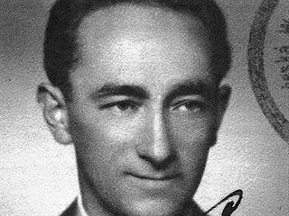 Vítězslav Lederer (na snímku) uprchl z koncentračního tábora v Osvětimi....