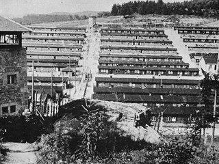 Koncentrační tábor v bavorském Flossenbürgu
