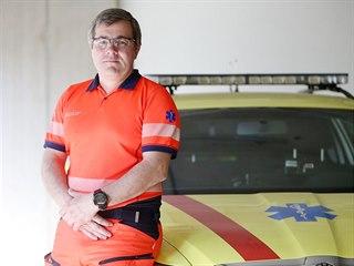 Inspektor provozu jihomoravské záchranky Daniel Bartošek vyzdvihuje, že při...