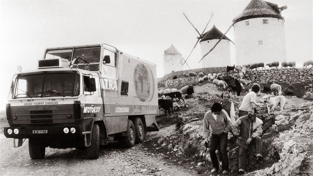Reportér vypátral třicet let ztracené filmy expedice Tatra kolem světa