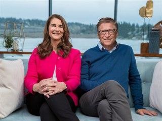 Melinda Gatesová s manželem