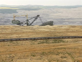 Hnědouhelný důl Turów (27. dubna 2019)