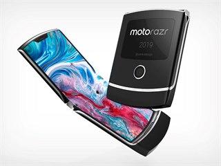 Koncept Motorola Razr 2019 Yanko Design