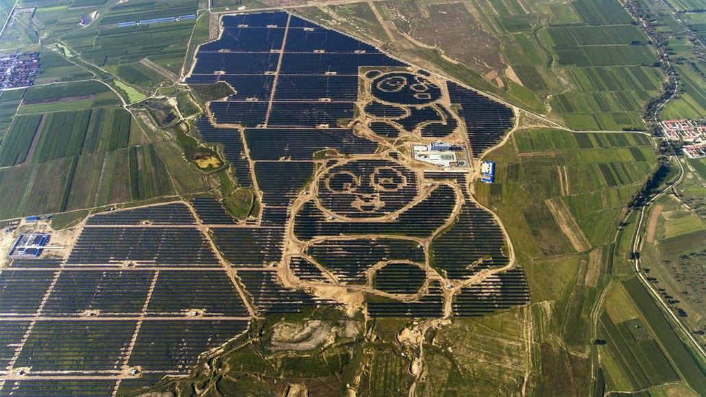 Solární megaprojekty: pandí elektrárna či farma o výkonu pěti Temelínů