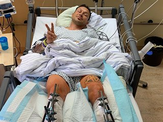 Libor Podmol se zotavuje po těžkém pádu v mnichovské nemocnici.