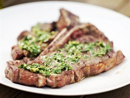 T-bone steak s gremolatou