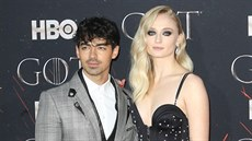 Joe Jonas a Sophie Turnerová (New York, 4. dubna 2019)